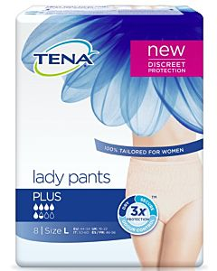 TENA LADY PANTS INKOHOUSU PLUS M HOUSUMALLI 9KPL