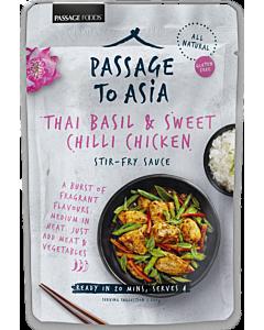 PASSAGE TO ASIA THAI BASIL&SWEET&CHILLI ATERIAKASTIKE 200G