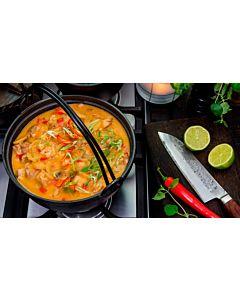 Resepti-Thaimaalainen kanapata