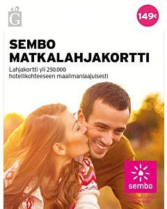 SEMBO MATKALAHJAKORTTI 149EUR