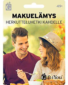 GIFT4YOU MAKUELÄMYS 49EUR LAHJAKORTTI