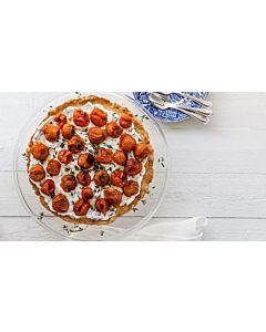Resepti-Tomaatti-tuorejuustopiirakka