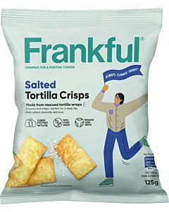 FRANKFUL SALTED TORTILLALASTUT 125G