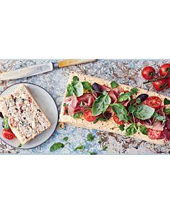 Resepti-Välimeren voileipäkakku