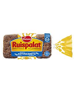 VAASAN RUISPALAT TÄYSJYVÄRUISPALALEIPÄ 12KPL 660G