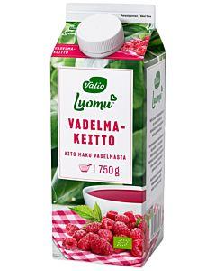VALIO LUOMU VADELMAKEITTO 750G