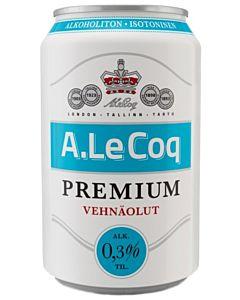 A.LE COQ PREMIUM VEHNÄOLUT 0,3% 0,33L