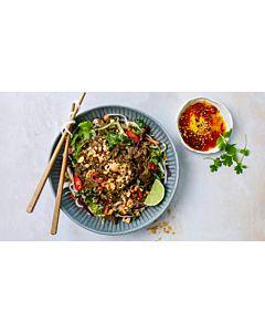Resepti-Beanit härkäpapusuikale-nuudelisalaatti