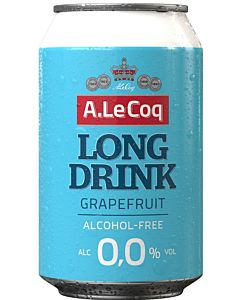 A.LE COQ GRAPEFRUIT ALKOHOLITON LONG DRINK 0% 0.33L