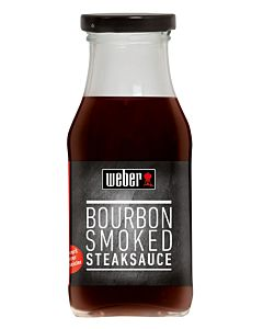 WEBER BOURBON SMOKED STEAKSAUCE 240ML