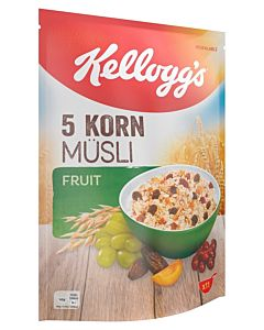 KELLOGG'S 5-KORN MYSLI FRUIT 500G