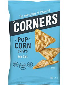 CORNERS POP CORN CRISPS SEA SALT 85G