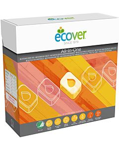 ECOVER KONETISKITABLETTI ALL-IN-ONE 65KPL