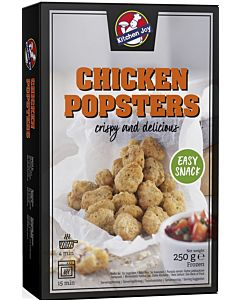 PAKASTE KITCHEN JOY 250G CHICKEN POPSTERS