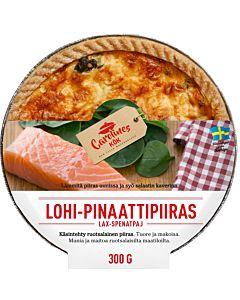 CAROLINES KÖK LOHI-PINAATTIPIIRAS 300G