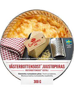 CAROLINES KÖK VÄSTERBOTTEN-JUUSTOPIIRAS 300G
