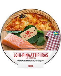 CAROLINES KÖK LOHI-PINAATTIPIIRAS 800G