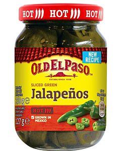 OLD EL PASO SLICED JALAPENOS 250/127G