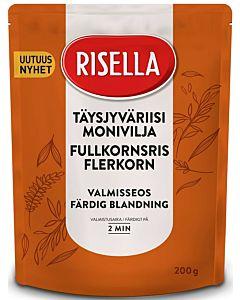 RISELLA 200G TÄYSJYVÄRIISI-MONIVILJA VALMISSEOS 2MIN