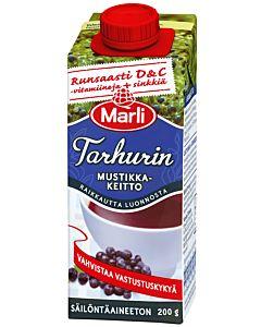 MARLI TARHURIN 200G MUSTIKKAKEITTO