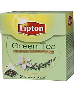 LIPTON PYRAMID 20PS GREEN TEA