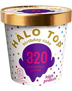 PAKASTE HALO TOP BIRTHDAY CAKE JÄÄTELÖ 473ML