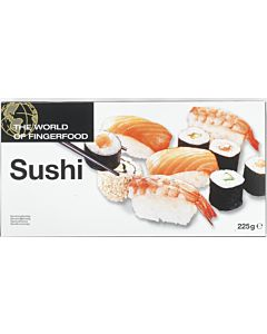 PAKASTE DENCON FOODS WORLD OF FINGERFOOD SUSHI 225G