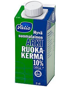 VALIO HYVÄ SUOMALAINEN ARKI RUOKAKERMA 10% 2DL UHT HYLA
