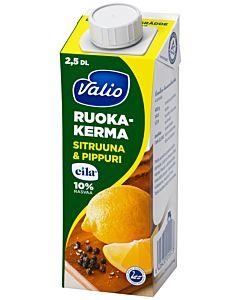 VALIO RUOKAKERMA 2.5DL SITRUUNA & PIPPURI UHT LAKTOOSITON