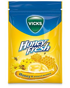 VICKS HONEY FRESH 72G KURKKUPASTILLI