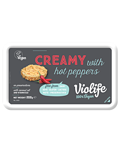 VIOLIFE CREAMY HOT PEPPERS 200G