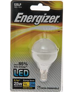 ENERGIZER LED POLTTIMO PIENI KUPU E14 3,1W