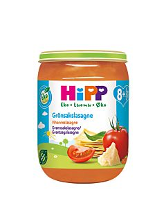 HIPP LUOMU VIHANNESLASAGNE 190G 8KK