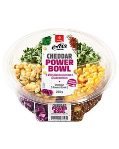 SAARIOINEN EVÄS POWER BOWL CHEDDAR 260G