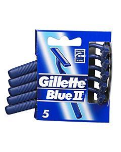 GILLETTE BLUE PLUS II SLALOM VARSITERÄ 5KPL