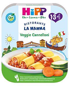 HIPP LUOMU LA MAMMA PASTA VEGGIE CANNELONI 250G 1-3V