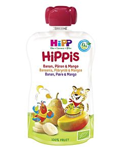 HIPP HIPPIS BANAANI/PÄÄRYNÄ/MANGO 100G 4KK