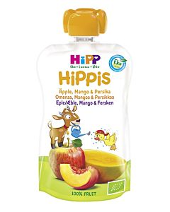 HIPPIS LUOMU SMOOTHIE PERSIKKAA, MANGOA & OMENAA 100G 4KK