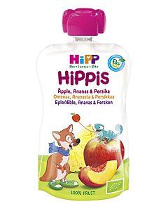 HIPPIS LUOMU SMOOTHIE OMENAA, ANANASTA JA PERSIKKAA 100G 6KK