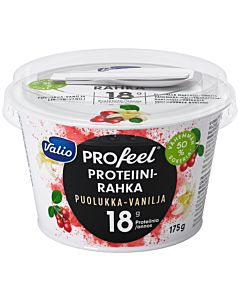 VALIO PROFEEL PROTEIINIRAHKA PUOLUKKA-VANILJA LAKTOOSITON 175G