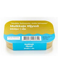 ÄYRIÄISTUKKU MUIKKU ÖLJYSSÄ 100G