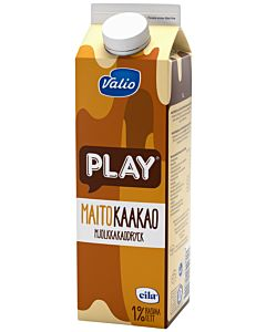VALIO PLAY MAITOKAAKAOJUOMA 1L LAKTOOSITON