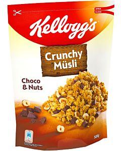 KELLOGG'S CRUNCHY MYSLI CHOCO & NUTS 500G