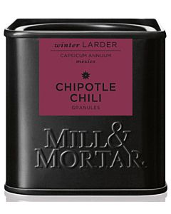 MILL & MORTAR MAUSTE CHIPOTLE CHILI HIUTALEET 45G