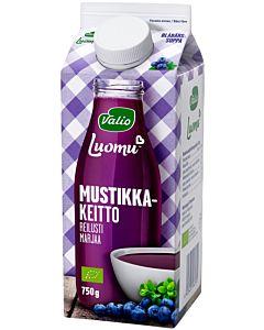 VALIO LUOMU MUSTIKKAKEITTO 750G