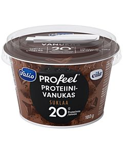 VALIO PROFEEL PROTEIINIVANUKAS 180G SUKLAA LAKTOOSITON