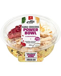 SAARIOINEN EVÄS POWER BOWL KANA-COUSCOUS 280G