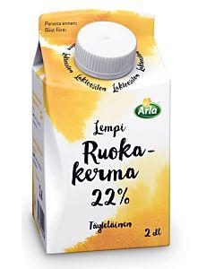 ARLA LEMPI RUOKAKERMA 22% 2DL LAKTOOSITON