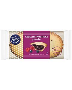 FAZER VADELMA-MUSTIKKAPIIRAKKA 2KPL/140G