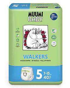 MUUMI BABY WALKERS 7-15KG KOKO 5 40KPL HOUSUVAIPPA